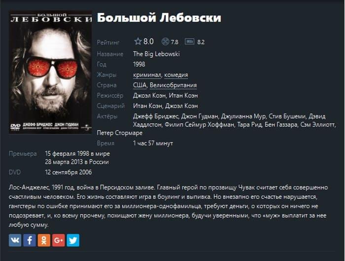 описание фильма